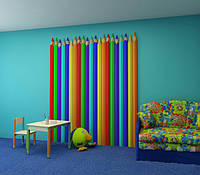 Дизайнерские гипсовые 3d панели для стен в детскую «Karandashy»