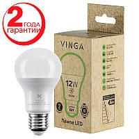 Светодиодная лампочка LED Vinga VL-A60E27-124L Энергосберегающая