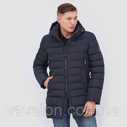 Куртка на биопухе удлиненная , фото 2