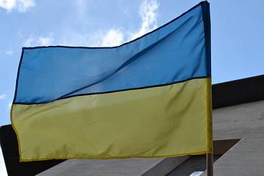 Флаг Украины 140х90 см