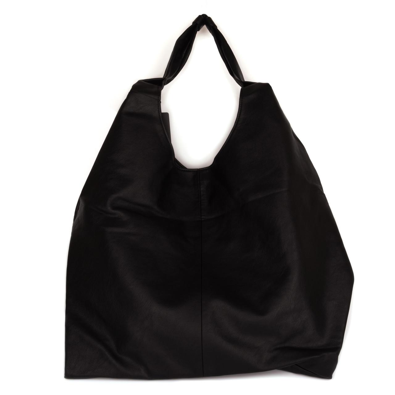 Женская Сумка Черная SHOPPER (9068)