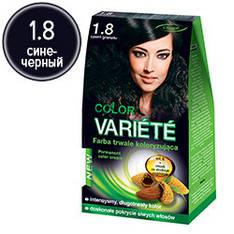 Chantal Variete Color - Стойкая крем-краска для волос 1.8 (сине-черный)