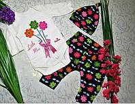 Велюровый костюм для девочки 68,74