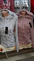 Женский стильный свитер с капюшоном
