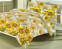 Комплект постельного белья БЯЗЬ ЕВРО (100 % хлопок) B-02