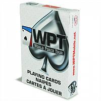 Карты игральные для покера Bee (WPT) World Poker Tour White
