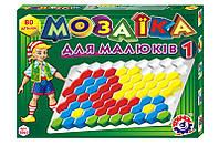 Игрушка мозаика для малышей 1 ТехноК 2063, 80 дет.