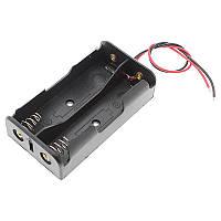 Тримач для 2-x акумуляторів Li-Ion 18650, послідовне з'єднання 7.4В