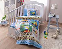 Постельное белье для новорожденных Disney  Toys Baby mavi