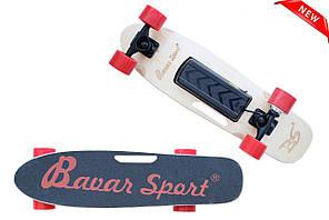 Скейт Пенни борд Penny board Blizzz ( электро-скейт ) электро мотор с пультом управления из канадского клена