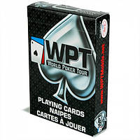 Карты для покера Bee (WPT) World Poker Tour Black