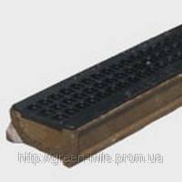 Лоток водоотводный  полимербетонный усиленный 140х100х1000