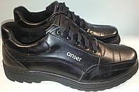 Туфли мужские кожаные ANSER 05 черный