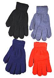 Детские трикотажные перчатки унисекс  - длина 19 см