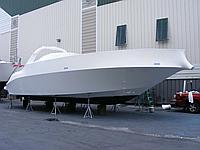 Упаковка яхт на зиму в термоусадочную плёнку Dr. Shrink