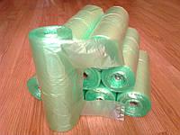 Пакеты майка 26*46 см 250 шт в рулоне 12 мкм, фасовочные полиэтиленовые зеленые, фасовочный пакет в рулонах