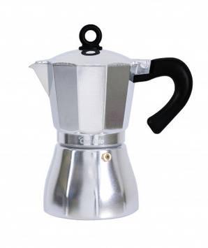 Гейзерна кавоварка Con Brio CB-6509 450 мл алюм