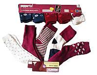 Носки махровые для девочки, (5 шт. в упаковке), размеры 27/30,31/34,35/38(2шт), Pepperts, арт. Л-489