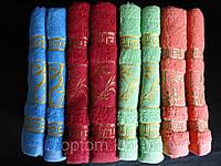 Яркие, качественные махровые полотенца для лица.