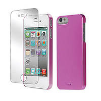 Tunewear Eggshell Pearl cover case for iPhone 5/5S, shiny pink (IP5-EGG-SHELL-P03)