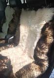 Авточехлол из натуральных овечьих шкур, фото 2