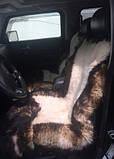 Авточехлол из натуральных овечьих шкур, фото 3