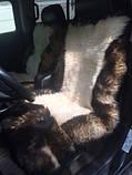 Авточехлол из натуральных овечьих шкур, фото 5