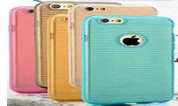 """Stripe TPU case for iPhone 6 4.7"""" blue"""