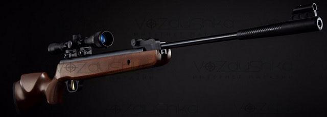 винтовка SPA GR1250W с установленной оптикой