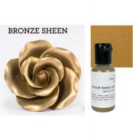 Краситель гелевый сверкающий Бронзовый Bronze Sheen AmeriColor, 20 г, фото 1