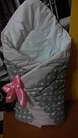 Зимний универсальный конверт-одеяло в роддом оптом