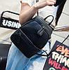 Женский рюкзак маленький Черный - Фото