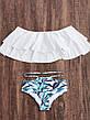 Купальник раздельный, бандо, плавки слип 129-07, фото 2