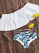 Купальник раздельный, бандо, плавки слип 129-07, фото 4