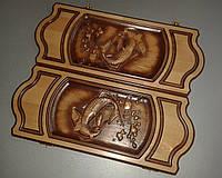 """Сувенирные нарды """"Рыбы"""" (425х175х36), фото 1"""