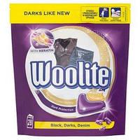 Капсули для прання чорних і темних речей Woolite 28шт.