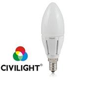 Светодиодная лампа C37 K2F40T6