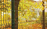 3Д забор из сетки сварной для ограждения Украина 4/4 2,5м х 1.5м