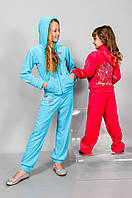 Костюм для девочки (кофта и брюки)