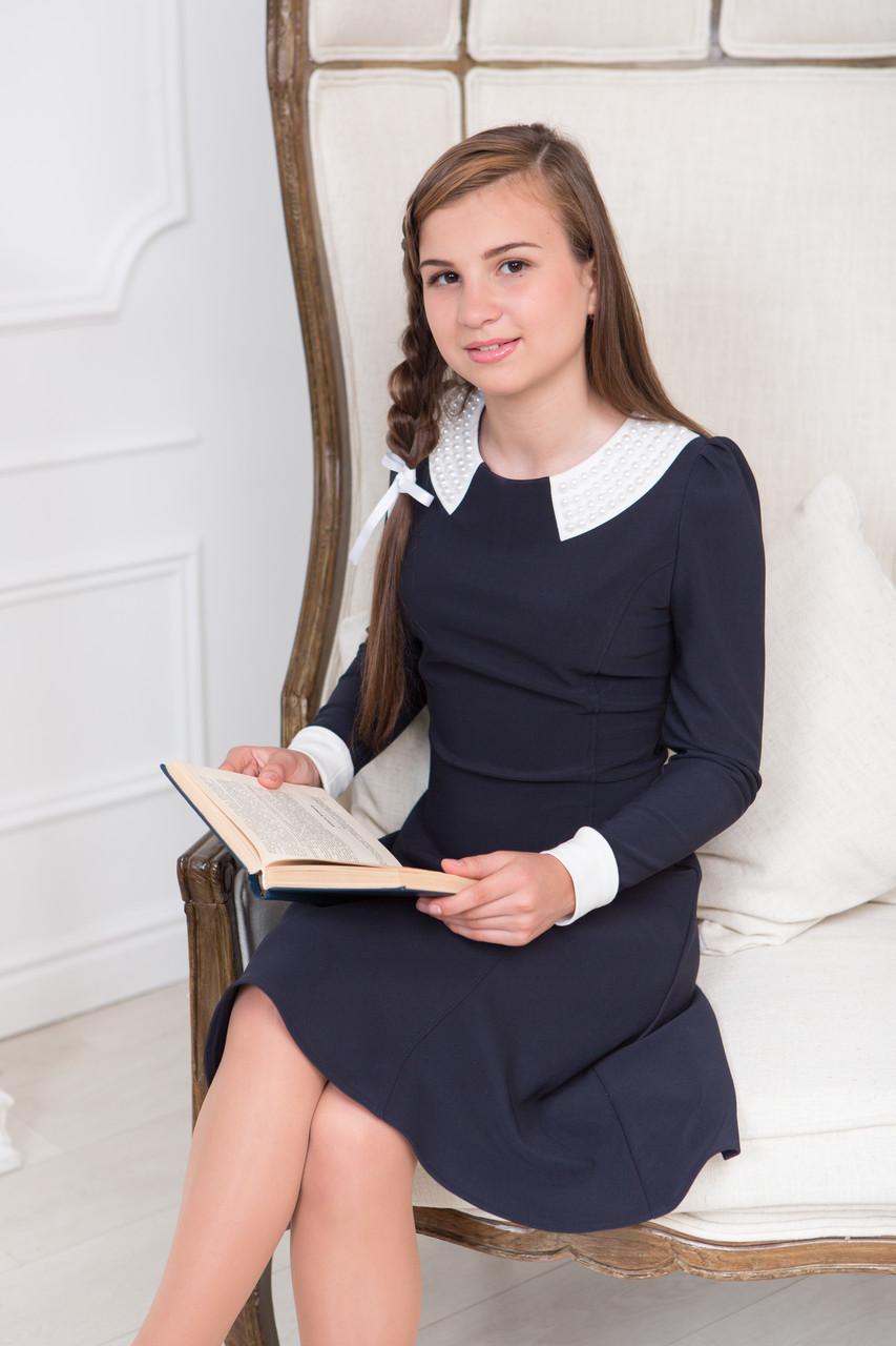 Элегантное школьное платье для девочки