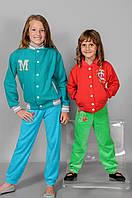 Детская кофта с вышивкой для девочки