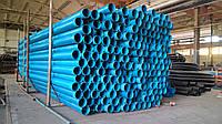 Обсадные трубы для скважин 125 мм х 5.5 мм х 3 м Для бурения скважин на питьевую воду, Голубая