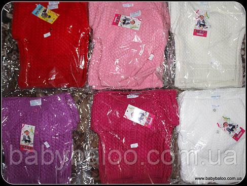 Кофта для девочки шарики на пуговицах (от 1 до 3 лет), фото 2