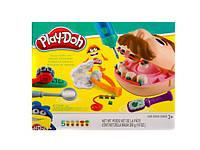 Набор для творчества пластилин детский Стоматолог «Зубастик» РD8605 Play-Doh аналог Киев