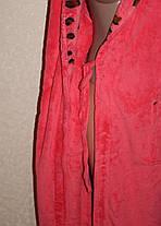 Махрові халати з відворотом, фото 3