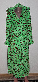 Махровые халаты с капюшоном
