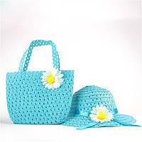 Яркий пляжный набор для маленькой модницы на 2-4 года