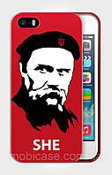 """Чехол для для iPhone 4/4s""""SHE""""."""
