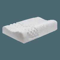 Ортопедическая подушка массажная из натурального латекса Тривес ТОП-205