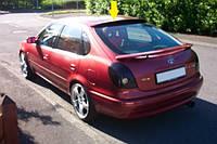 (Liftback) Спойлер на крышку багажника, верхний, под покраску. (Toyota) - Corolla - Toyota - 1997